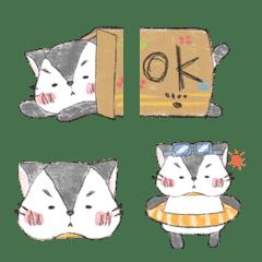 *のんびり子猫のモモ*絵文字