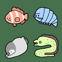 ゆる海の生き物
