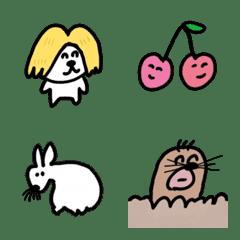 ゆるい生き物たち 絵文字4