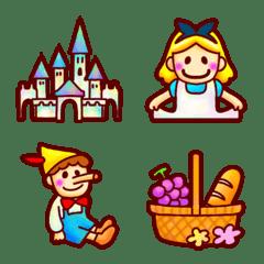 世界の童話の絵文字