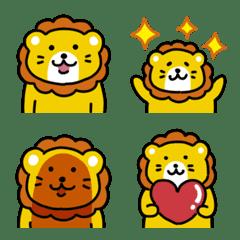 ゆるいライオンの絵文字
