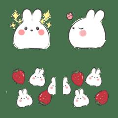 もちもちウサギの絵文字