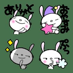 なかいさんちのうさぎ『絵文字』3