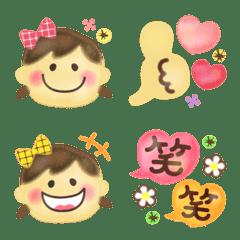 大人可愛い♡ゆるふわガール絵文字