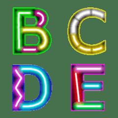 ネオンライトボックスサイン(A-Z)絵文字