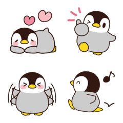 チビかわ♡ペンギン絵文字3