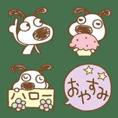 おしゃかわ♡犬のバウピー絵文字