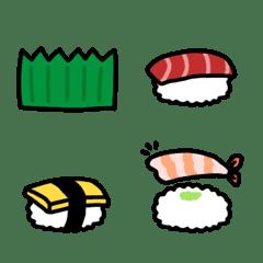 *並べてかわいい*ミニお寿司
