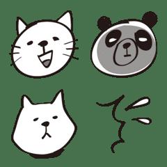 シュールなサインペン画絵文字【動物編】