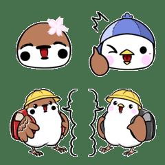 ちゅん子とちゅん太 ~春~