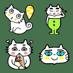 ネコとコトリ達の楽しい絵文字スタンプ