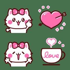 ゆるかわラブリー♡ねこちゃん絵文字♡ 2