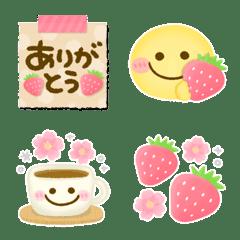 大人可愛い♡春色絵文字