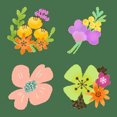 春の北欧*ボタニカル絵文字