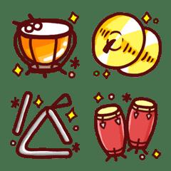 きらめく打楽器絵文字♪【40種類】