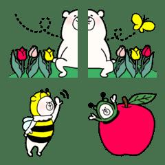 ⚫︎⚪︎幸せクマの毎日⚪︎⚫︎春っぽいの2
