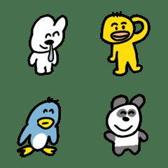 ゆるい生き物たち 絵文字 5