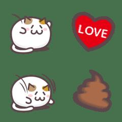 肉玉にゃんこ 絵文字 4【投げる】