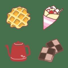 主張しすぎない∞お菓子絵文字_01