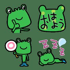 カエルん 絵文字