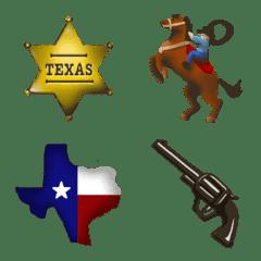 テキサス好きのための絵文字