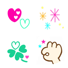 ちょこっと可愛く彩る絵文字♡2【改訂版】