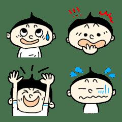 とんがりヘアBOYS☆気持ち絵文字