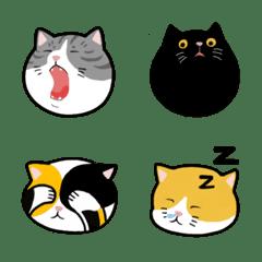 five cats Emoji