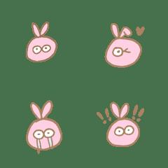 ピンクいうさぎ