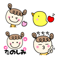 キーちゃんの絵文字☆2