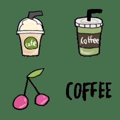 かわいいカフェ絵文字