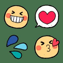 可愛い❤おしゃふわゆる元気クレヨン絵文字