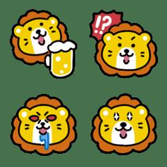 ゆるいライオンの絵文字2