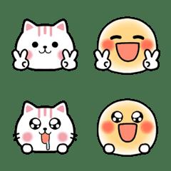 コラボ♥️ふわスマイルと猫ネクニャ絵文字