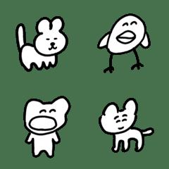ゆるい生き物たち 絵文字 6