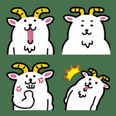 ゆるいヤギの絵文字