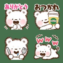 毎日もふクマさん絵文字 基本編
