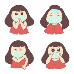 MooWhan Girl Emoji