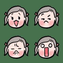 たかぷーの絵文字(女の子バージョン)