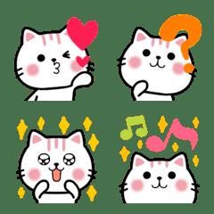 おしゃれ猫❤可愛い顔100%ネクニャ絵文字