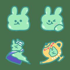 slime rabbit poto emoji