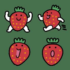 あまいイチゴの絵文字
