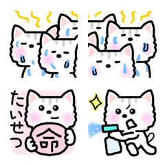 ねこ☆ランちゃん☆絵文字2