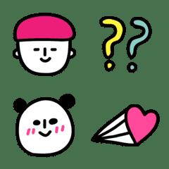 THE♡ラクガキ絵文字【キモカワ感情】