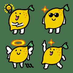 すっぱいレモンの絵文字