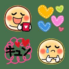 可愛い♥️スタイリッシュスマイル絵文字