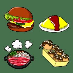 食べ物大集合!