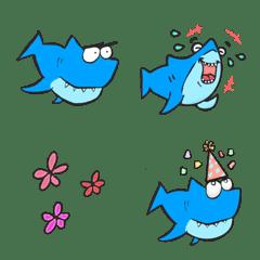 いろんな顔のサメ