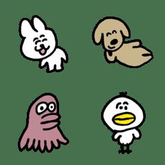 ゆるい生き物たち 絵文字 7