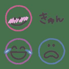 ▽△ シンプルまる (CHARCOAL GRAY+α)